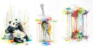 Philipp Grein Animal Watercolors