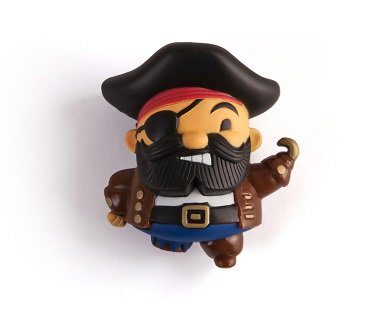 Pirate Peg Leg Sharpener pencil