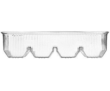 Plastic Tray Style Serving Dish clear