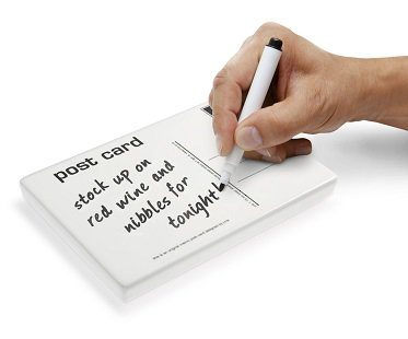 Postcard Ceramic Memo Pad notes