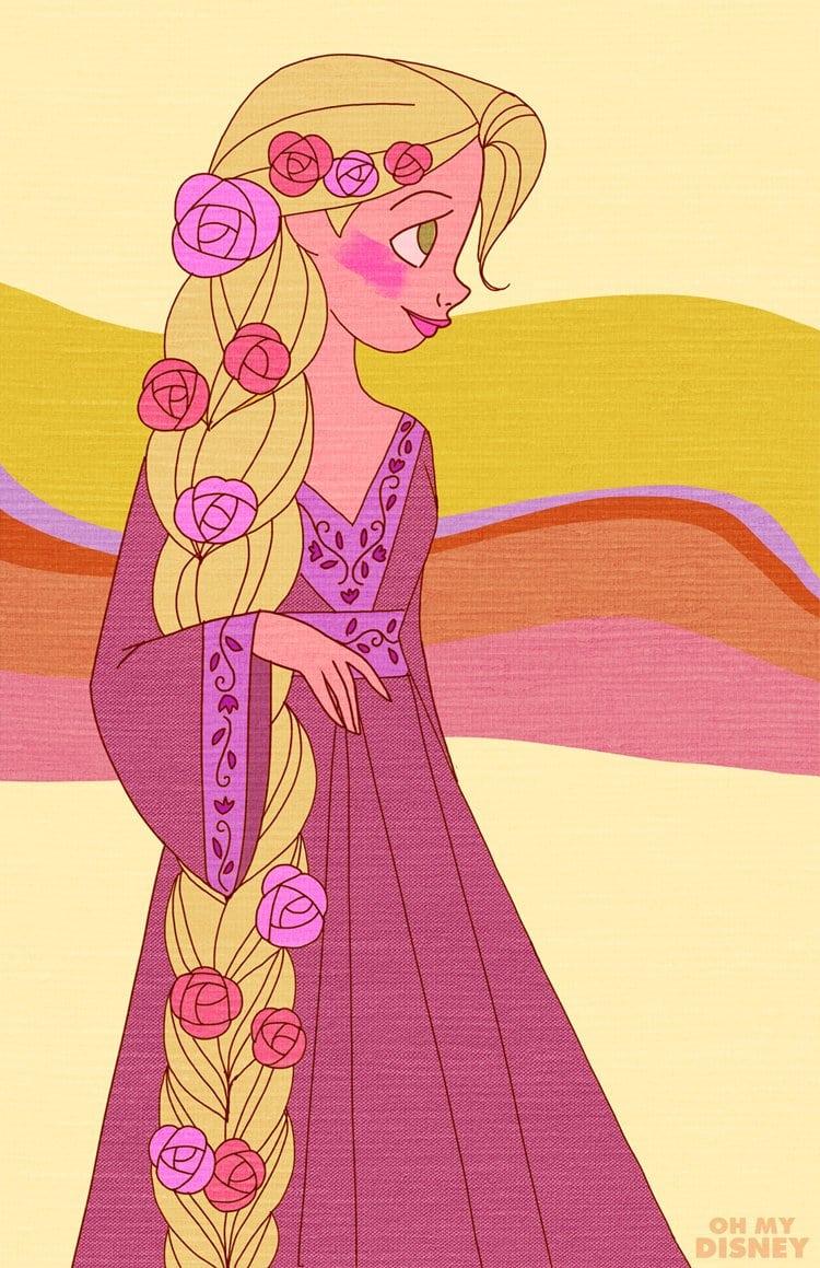 Retro-Rapunzel