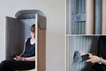 Signal Blocking Chair
