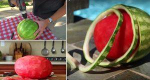 Skin A Watermelon Trick