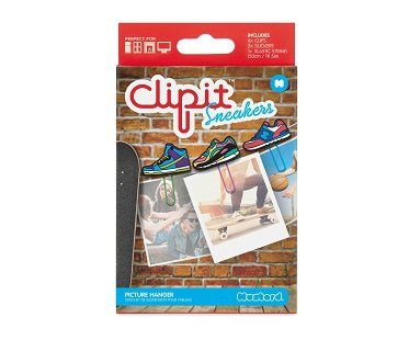Sneaker Clip Picture Hangers box