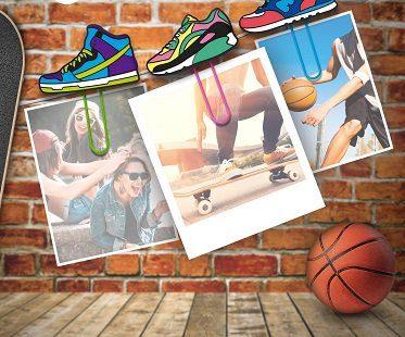 Sneaker Clip Picture Hangers memos