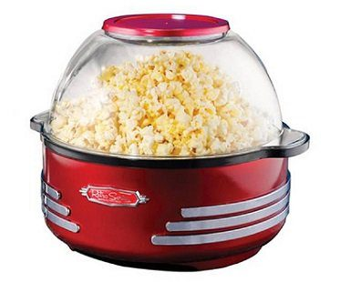 Stirring Popcorn Maker And Nut Toaster machine