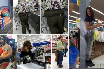 Strange Walmart Shoppers