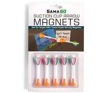 Suction Cup Arrow Magnets pack
