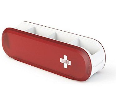 Swiss Army-Style Utensil Holder red