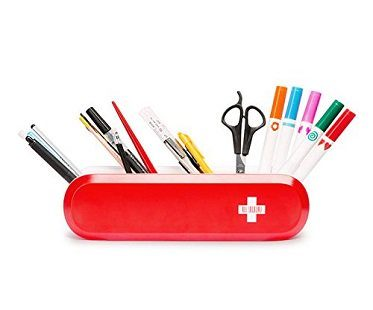 Swiss Army-Style Utensil Holder red pens