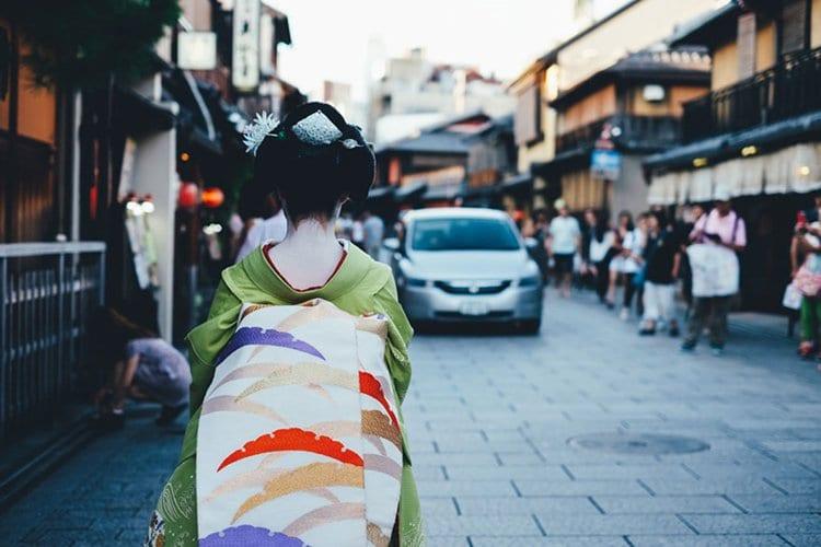 Takashi Yasui geisha