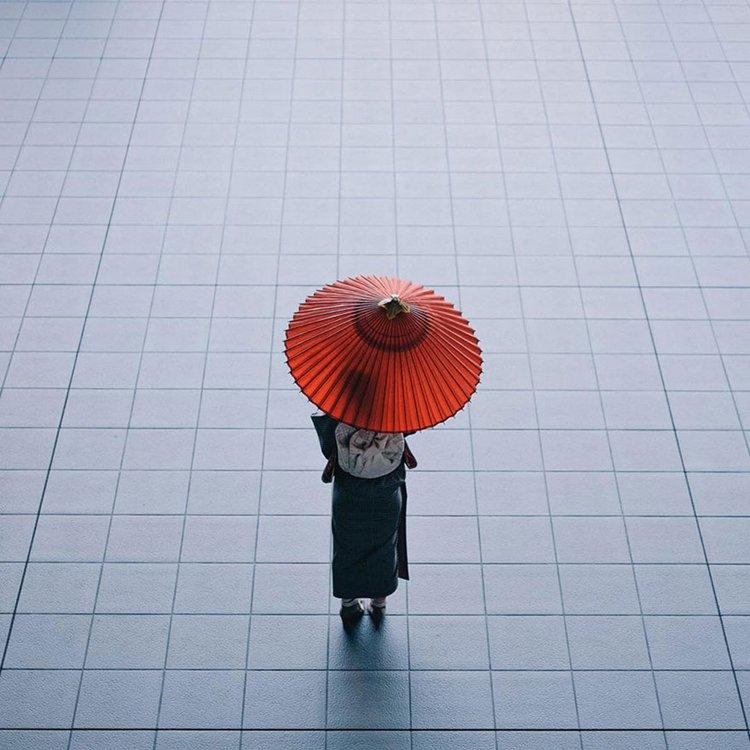Takashi Yasui parasol