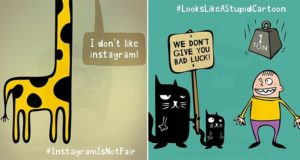 Upset Animal Problems Illustrations