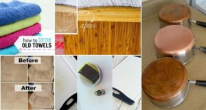 Ways To Revive Old Worn Items
