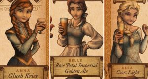 What Disney Princesses Would Drink At Oktoberfest