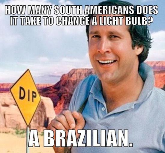a brazilian