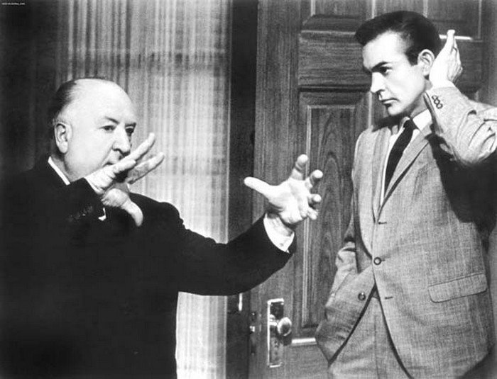 alfred hitchcock sean connery