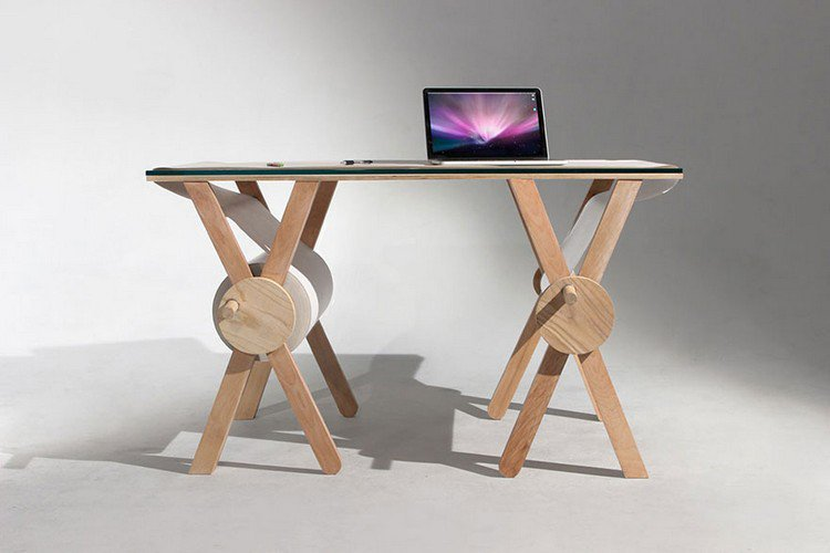 analog desk laptop