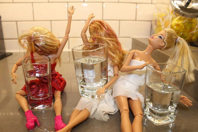 barbie friends shots