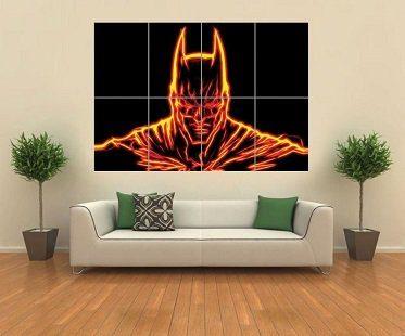 batman wall art poster