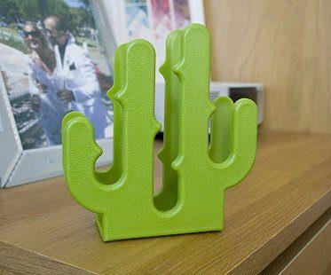 cactus letter holder