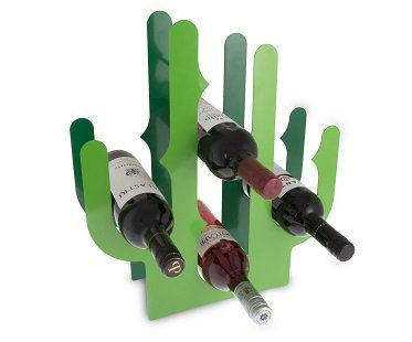 cactus wine rack bottles