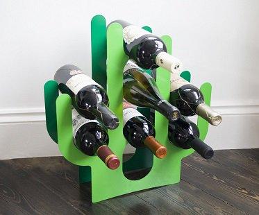 cactus wine rack