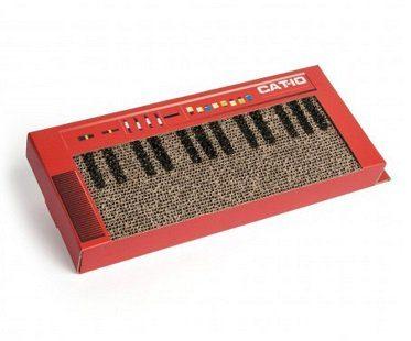 cat keyboard scratcher mat