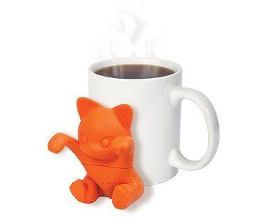 cat tea infuser cup