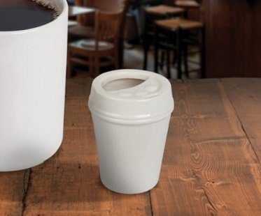 coffee shop creamer pot