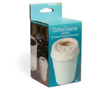 coffee shop creamer pot jug box