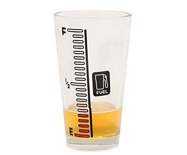 cold changing beer gauge glass pint