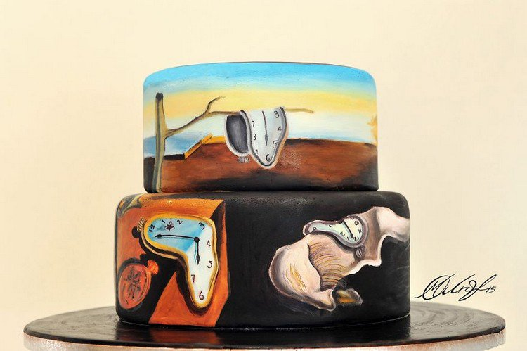 Artist Maria A. Aristidou Recreates Famous Paintings On Cakes