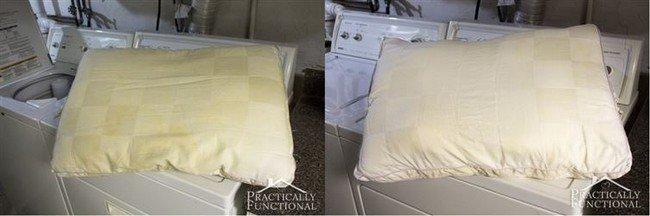 dirty pillow clean pillow