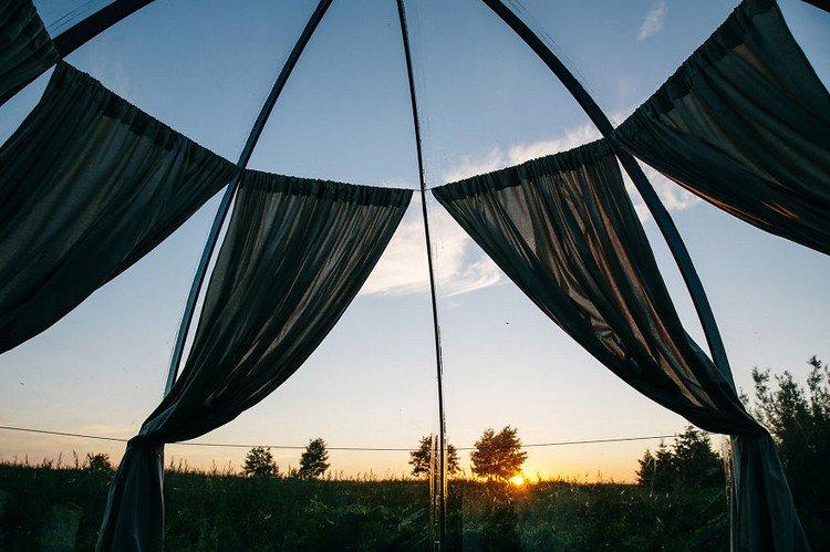 dome curtain sky