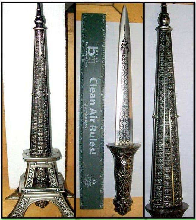 double edged sword eiffel tower