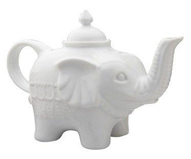 elephant teapot tea