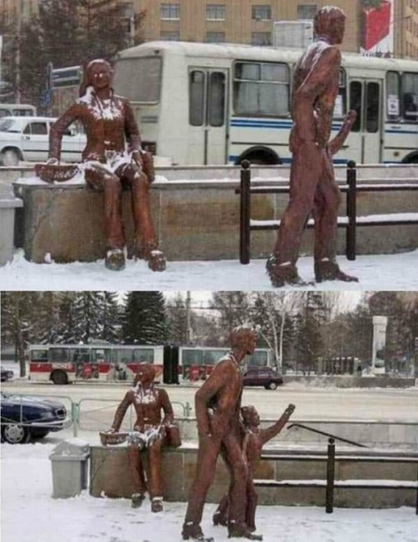 family statue