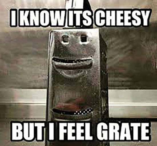 feel grate