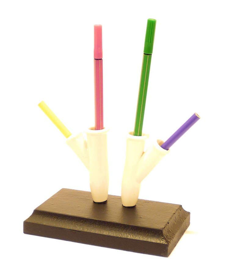 four pencil stand