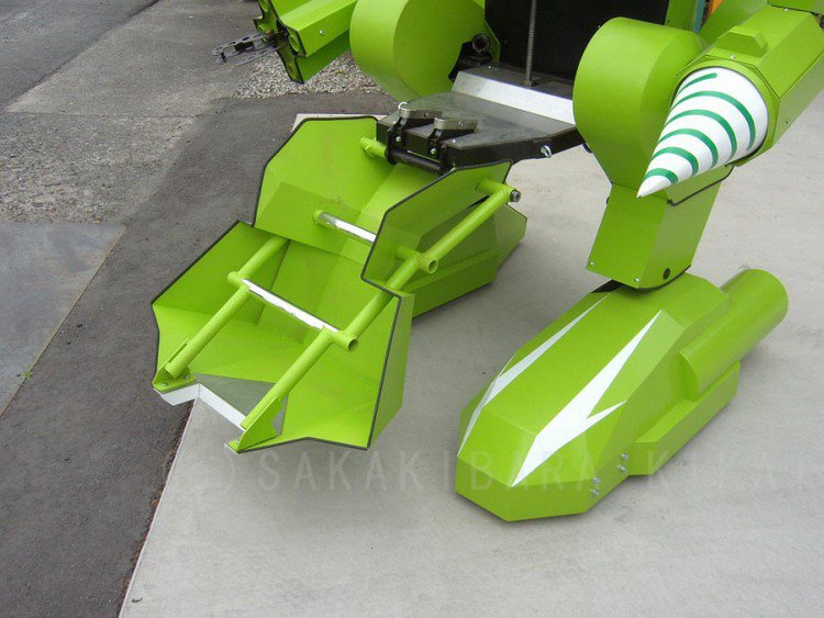 giant robot feet