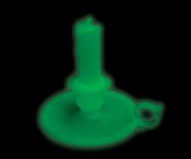 glow in the dark candlestick