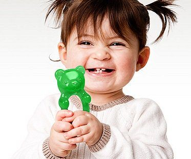 gummy bear teether
