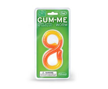 gummy worm teether pack