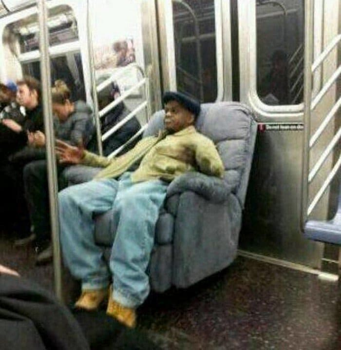 guy commute armchair