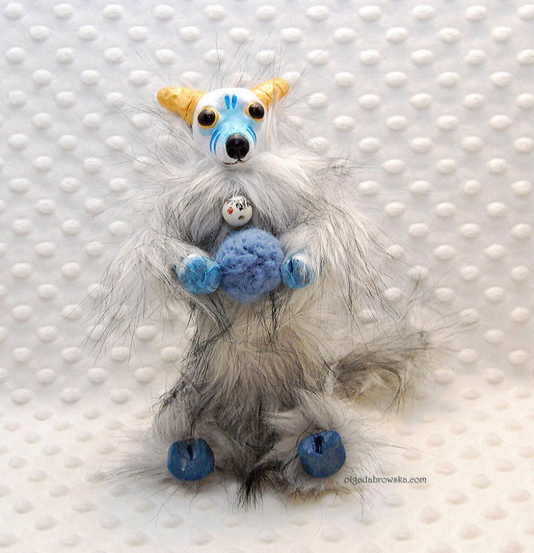 hairy animal figure