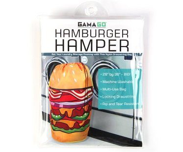 hamburger laundry hamper pack