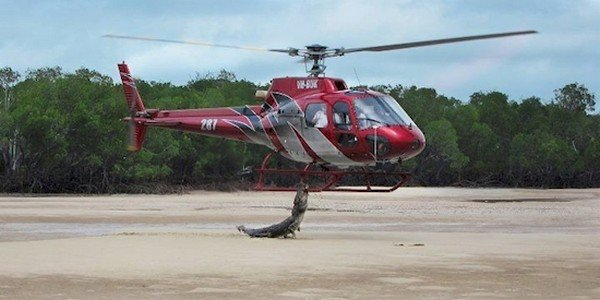 helicopter croc