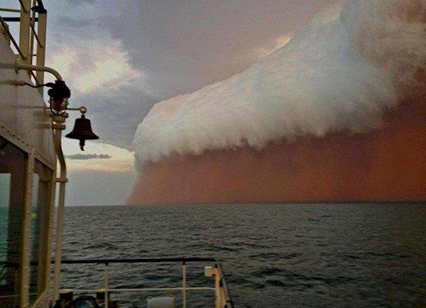 huge wave boat