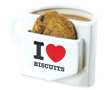 i heart biscuits mug with pocket cookie